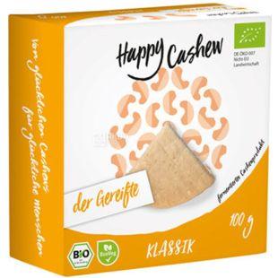 Happy Cashew Classic, 100 г, Сир з кеш'ю, класичний, витриманий, органічний, веганський, 34%