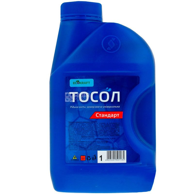 EcoKraft, Тосол Стандарт А-40, 1 л