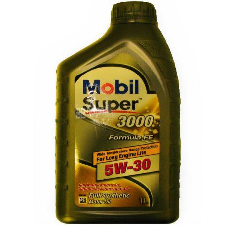 Mobil Super 3000 X1 Formula FE 5W-30, 1 л, Масло моторное