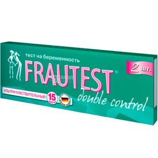Frautest Double control, Тест-смужка для визначення вагітності Фраутест Дабл контрол