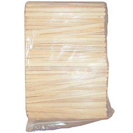 Промтус, Мішалки дерев'яні XL, 18 см, 1000 шт.