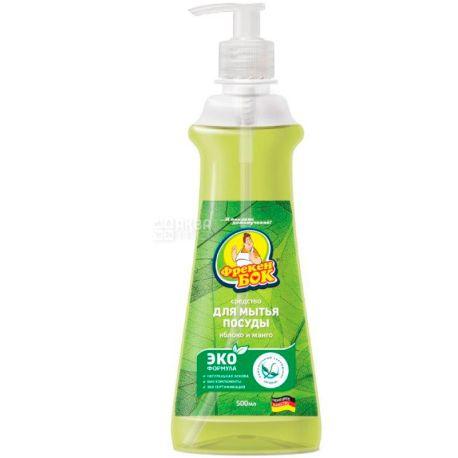 Фрекен Бок, Яблоко и манго, 500 мл, Жидкое средство для мытья посуды