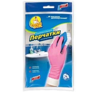 Freken Bock, size L, household gloves, Superstrong, m / s