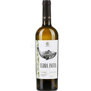 Terra Initia, Banovani, Вино белое полусладкое, 0,75 л