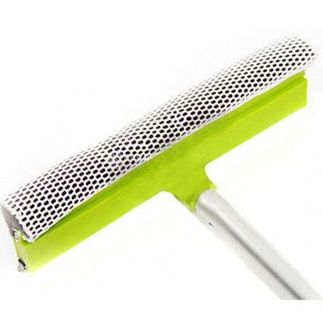 EcoKraft, Щетка с губкой и стяжкой для мытья окон автомобиля, 25х70 см