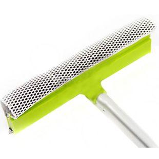 EcoKraft, Щітка з губкою і стяжкою для миття вікон автомобіля, 25х70 см