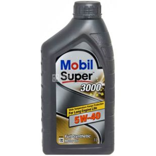 Mobil Super, 3000 5W-30, 1 л, Масло моторное