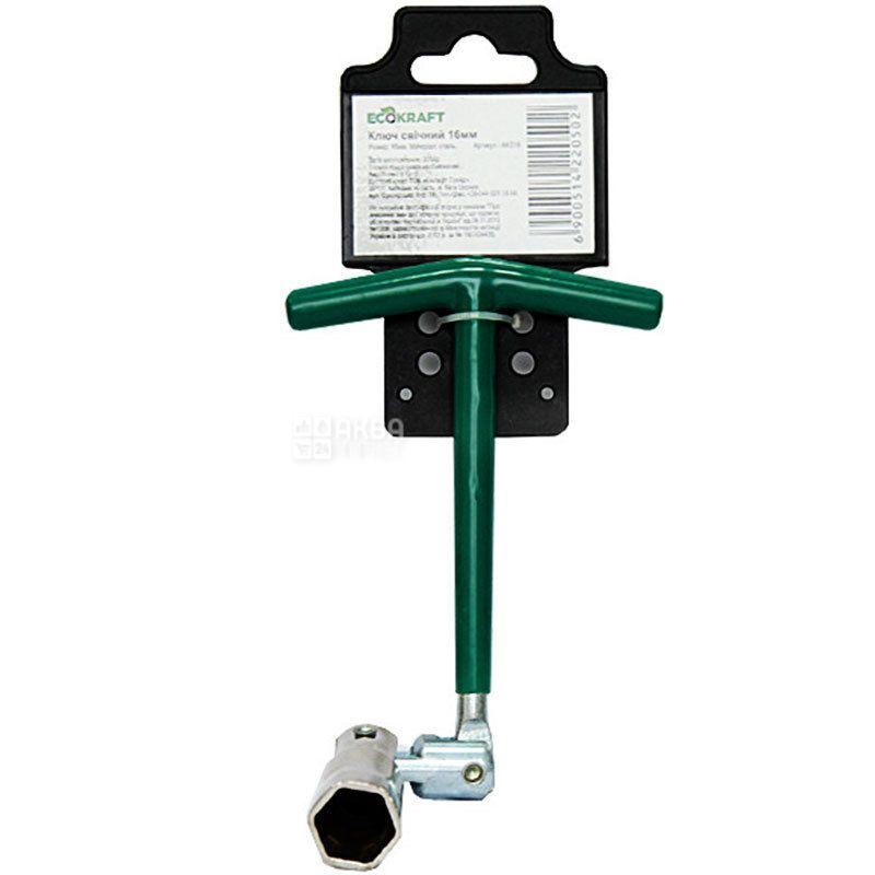 EcoKraft, 16 мм, Ключ свечной