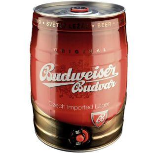 Budweiser Budvar, Пиво светлое, 5 л