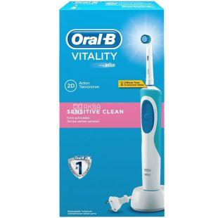 Oral-B Vitality Sensitive, Зубна щітка електрична, 1 шт.