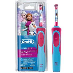 Oral-B Frozen, Дитяча зубна щітка, електрична, 1 шт.