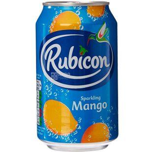 Rubicon, 0,33 л, Напиток сильногазированный, со вкусом манго