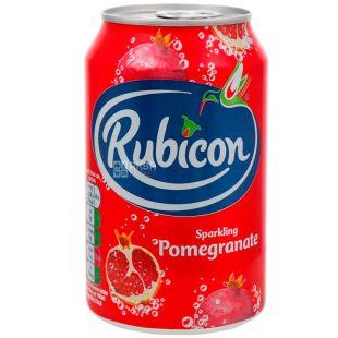 Rubicon, 0,33, Напиток сильногазированный, со вкусом граната