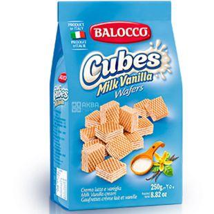 Balocco Cubes, 250 г, Вафлі з латте