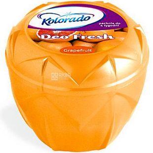 Kolorado, Освежитель воздуха гелевый, Грейпфрут Deo Fresh, 150 г