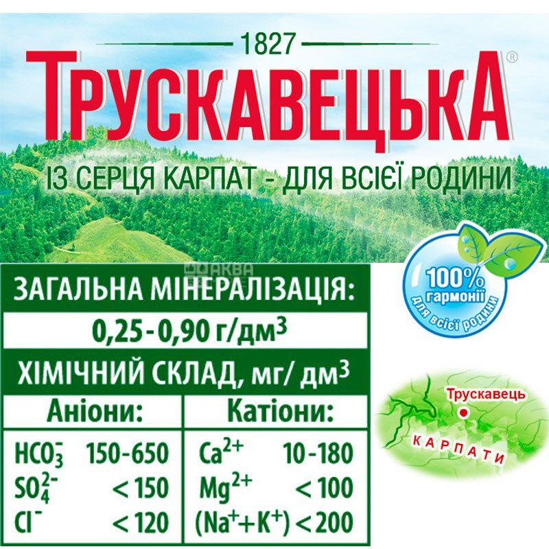 Трускавецька Аква-Еко, 1,5 л, Вода мінеральна сильногазована, ПЕТ