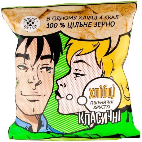 Pop Snack, Хлебцы пшеничные, 30 г