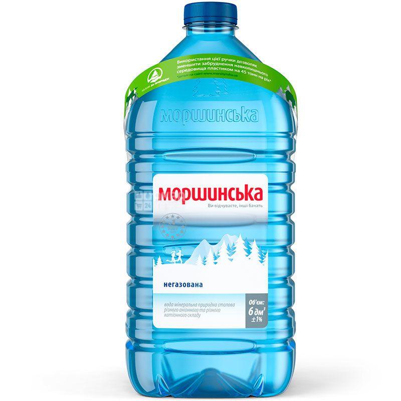 Моршинская, 6 л, Вода негазированная, ПЭТ