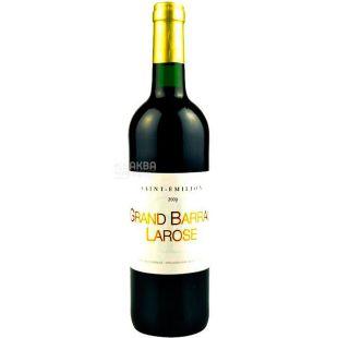 Saint-Emilion, Grand Barra Larose, Вино червоне сухе, 0,75 л