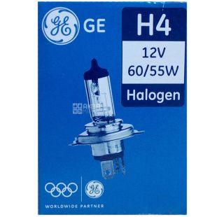 General Electric H4 12V 60/55W P43t GE, Автолампа галогенна