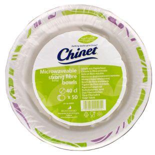 Chinet Flavor, Тарелка бумажная суповая Ø 40 см, 50 шт.