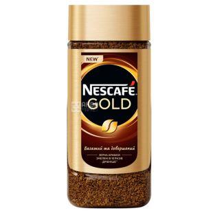 Nescafe Gold, 190 г, Кава Нескафе Голд, розчинний