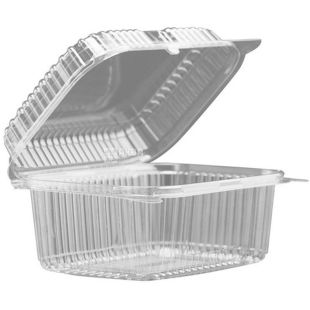 Container, 25 pcs., 100 x 170 x 80 mm, without perforation, m / s
