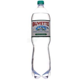 Buvette Vital, 1,5l, Lightly carbonated water, PET, PAT