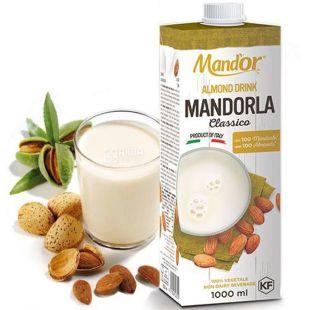 Mand`or Classic, 1 л, Мандор, Миндальное молоко