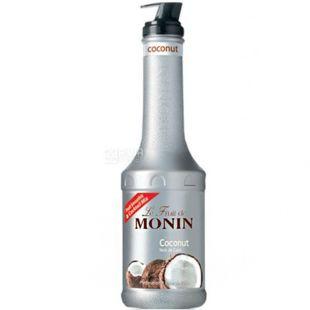 Monin Coconut, 1,36 кг, Фруктовое пюре Монин, Кокос, ПЭТ