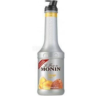Monin Mango, 1,36 кг, Фруктовое пюре Монин, Манго, ПЭТ