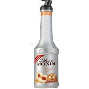 Monin Peach, 1.36 kg, Monin Fruit Puree, Peach, PET