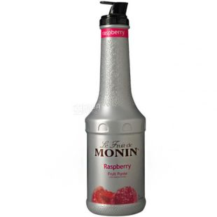 Monin Raspberry, 1,36 кг, Фруктовое пюре Монин, Малина, ПЭТ