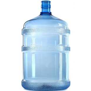 Bottle for water without handle 18,9l polycarbonate, TM Polyflex
