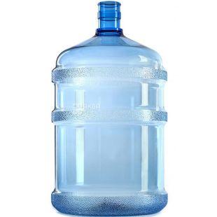 Бутыль для воды без ручки 18,9л поликарбонатный, ТМ Полифлекс