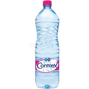 Contrex, 1,5 л, Контрекс, Вода минеральная лечебно-столовая негазированная, ПЭТ