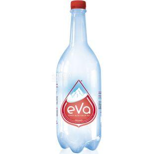 Acqua Eva, 1 л, Аква Эва, Вода горная, газированная, ПЭТ