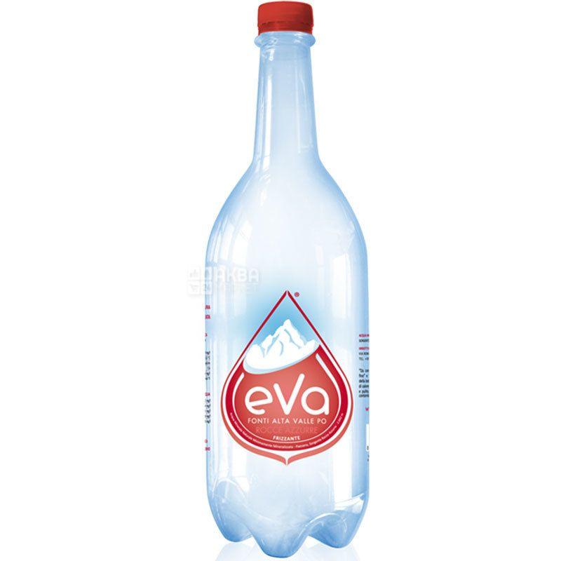 Acqua Eva, 1 L, Aqua Eva, Mountain water, sparkling, PET