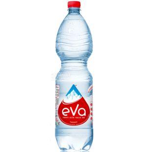 Acqua Eva, 1,5 л, Аква Ева, Вода гірська, газована, ПЕТ