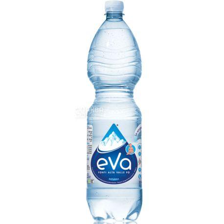Acqua Eva, 1,5 л, Аква Эва, Вода горная, негазированная, ПЭТ