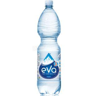 Acqua Eva, 1,5 л, Аква Ева, Вода гірська, негазована, ПЕТ