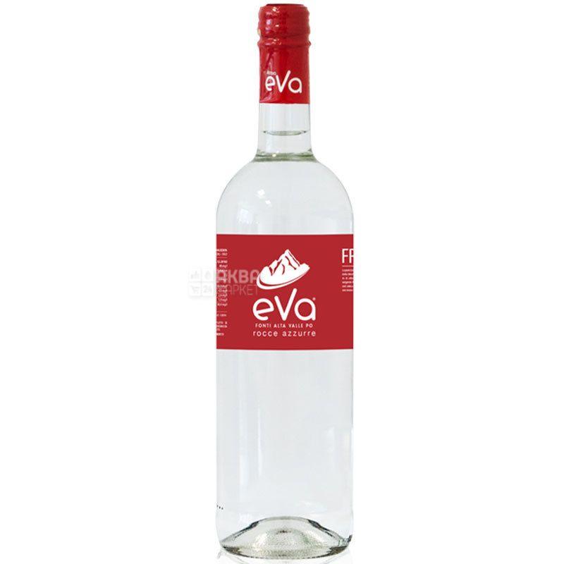 Acqua Eva Classic, 0,75 л, Аква Ева Класік, Вода гірська газована, скло