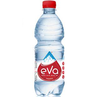 Acqua Eva, 0,5 л, Аква Ева, Вода минеральная газированная, ПЭТ