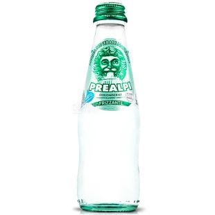 Fonti Prealpi, 0,25 л, Фонти Преалпи, Вода минеральная газированная, стекло