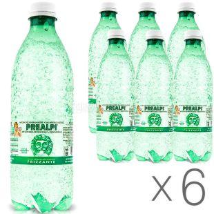 Fonti Prealpi, 0,5 л, Упаковка 6 шт., Преалпі, Вода мінеральна газована, ПЕТ