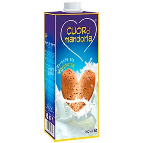 Mand`or Cuor di Mandorla, 1 л, Мандор Куор ди Мандорла, Миндальное молоко