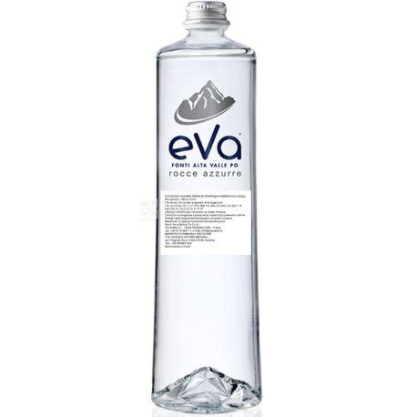 Acqua Eva Premium, 0,75 л, Аква Эва Премиум, Вода горная, негазированная, стекло