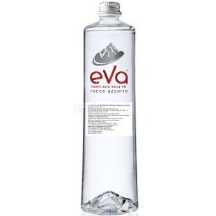 Acqua Eva Premium, 0.75 L, Aqua Eva, Mountain water, sparkling, glass