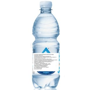 Acqua Eva, 0,5 л, Аква Ева, Вода гірська, негазована, ПЕТ
