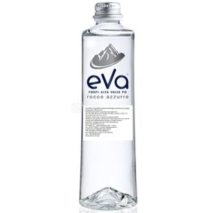 Acqua Eva Premium, 0,33 л, Аква Эва Преміум, Вода гарська, негазована, скло